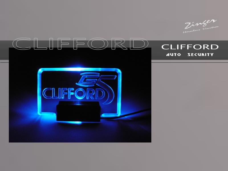 CLIFFORDG5ロゴLED