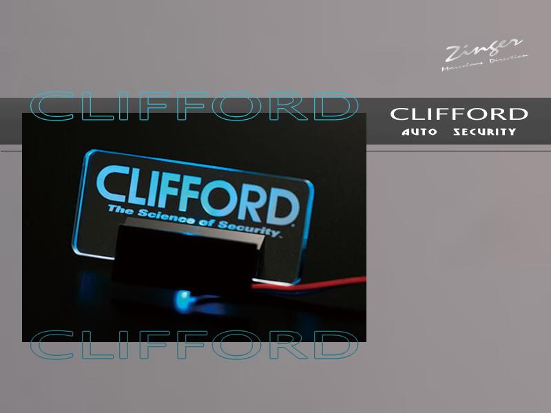 AT-APC CLIFFORDロゴLED
