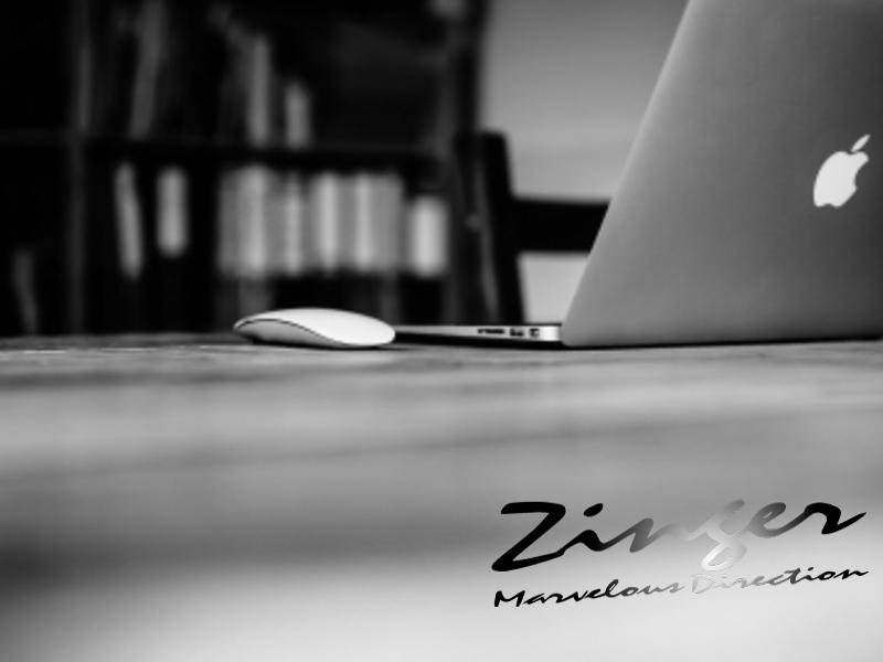 Zingerの真骨頂「空間演出」。
